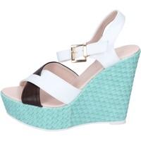Zapatos Mujer Sandalias Solo Soprani BN646 blanco