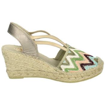 Zapatos Mujer Sandalias Vidorreta Valenciana elastica Marrón