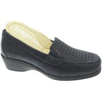 Zapatos Mujer Mocasín Calzaturificio Loren LOK4013bl blu