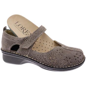 Zapatos Mujer Bailarinas-manoletinas Calzaturificio Loren LOM2313tabo tortora