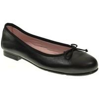 Zapatos Mujer Bailarinas-manoletinas Valdivieso MANOLETINAS  NEGRO Negro
