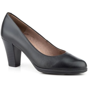 Zapatos Mujer Zapatos de tacón Par Y Medio Shoes Zapatos de piel con tacón by Par y Medio Noir