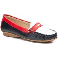 Zapatos Mujer Mocasín Par Y Medio Shoes Mocasines de mujer de piel by Par y Medio Multicolore