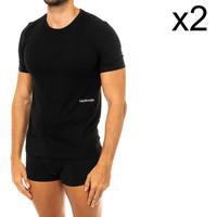 Ropa interior Hombre Camiseta interior Calvin Klein Jeans Pack-2 Camisetas M/Corta C.Klein Negro
