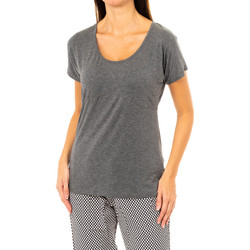 textil Mujer camisetas manga corta Tommy H Underwear Camiseta M/Corta Tommy Hilfiger Gris