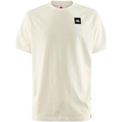 textil Hombre Camisetas manga corta Kappa - T-shirt bianco 304SC50-905 BIANCO