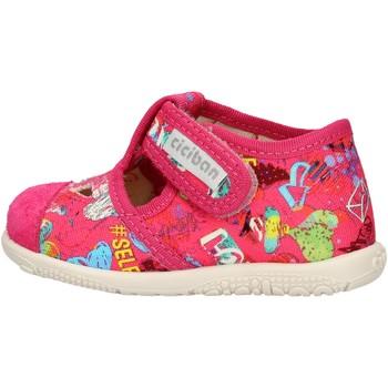 Zapatos Niño Zapatillas bajas Balocchi - Pantofola fuxia 10433 FUXIA