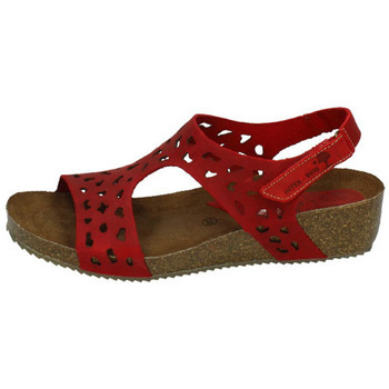 Zapatos Mujer Sandalias Interbios Sandalia bios rojo ROJO