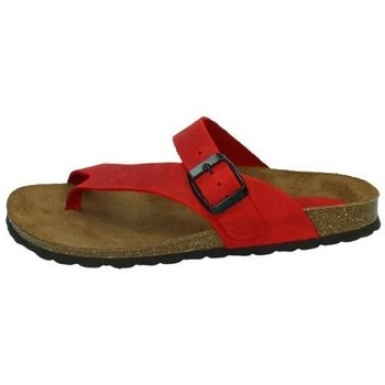 Zapatos Mujer Sandalias Interbios Chancla esclava rojo Rojo