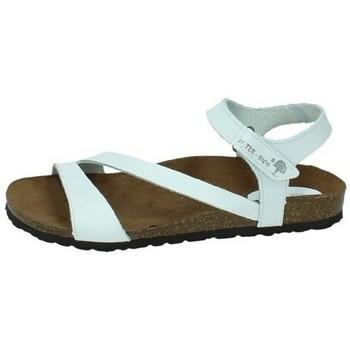 Zapatos Mujer Sandalias Interbios Sandalia bio blanco BLANCO