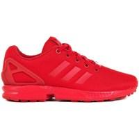 Zapatos Niños Zapatillas bajas adidas Originals ZX Flux J Rojos