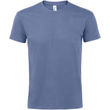 textil Hombre Camisetas manga corta Sols 11500 Azul