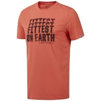 textil Hombre Camisetas manga corta Reebok Sport RC Fittest ON Earth De color naranja