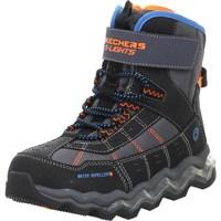 Zapatos Niños Senderismo Skechers Kinderstiefel Polar Rush Negros,De color naranja