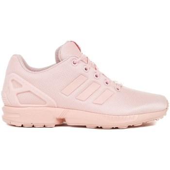 Zapatos Niños Derbie & Richelieu adidas Originals ZX Flux J Rosa