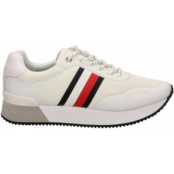Zapatos Mujer Zapatillas bajas Tommy Hilfiger TOMMY MESH CITY ybs-white