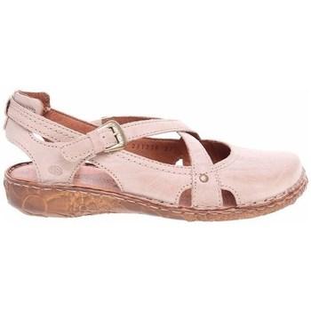 Zapatos Mujer Sandalias Josef Seibel Ballerinas Rosa