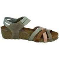 Zapatos Mujer Sandalias Interbios Sandalias cuÑa gris Multicolor