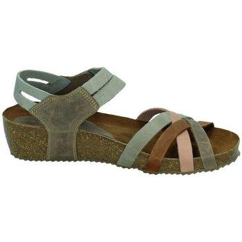 Zapatos Mujer Sandalias Interbios Sandalias cuÑa gris Gris