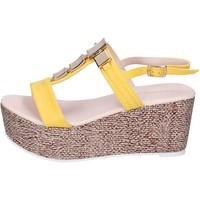 Zapatos Mujer Sandalias Solo Soprani BN647 amarillo