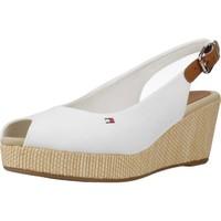 Zapatos Mujer Sandalias Tommy Hilfiger ICONIC ELBA SLING BACK W Blanco