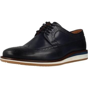 Zapatos Hombre Derbie Ric.bel 1210060 Azul