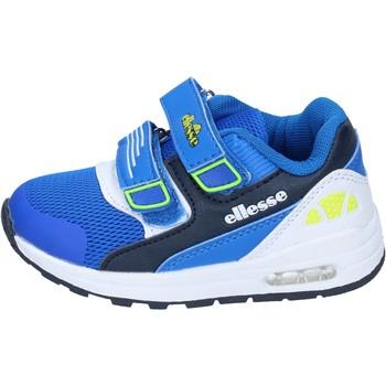 Zapatos Niño Zapatillas bajas Ellesse BN655 azul