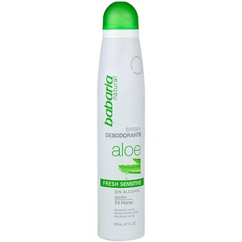 Belleza Mujer Desodorantes Babaria ALOE SPRAY DESODORANTE FRESH SENSITIVE 200ML VAPO Multicolor