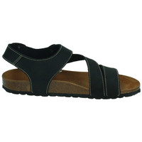 Zapatos Hombre Sandalias Interbios Sandalias bio negro Negro