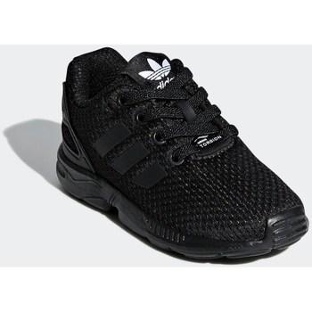 Zapatos Niños Zapatillas bajas adidas Originals ZX Flux EL I Negros