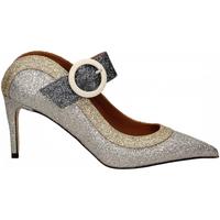Zapatos Mujer Zapatos de tacón Martina T SABOT GLITTER argento