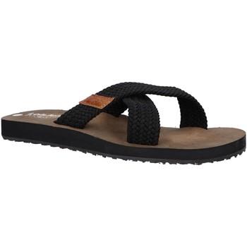 Zapatos Hombre Sandalias Lois 86045 Negro
