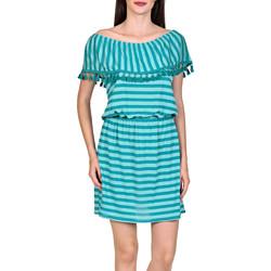 textil Mujer Vestidos cortos Lisca Vestido de playa Itala Marina Verde Oscuro