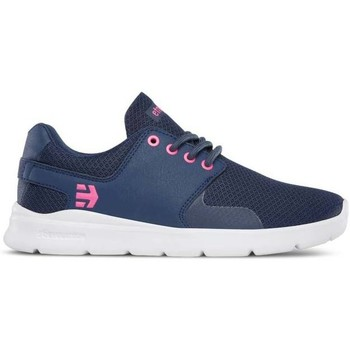 Zapatos Mujer Zapatos de skate Etnies Scout Xt Womens Navy/pink