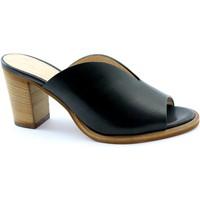 Zapatos Mujer Zuecos (Mules) Les Venues LES-E20-5725-NE Nero