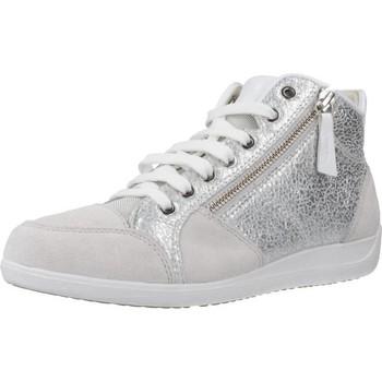 Zapatos Mujer Deportivas Moda Geox D MYRIA C Gris