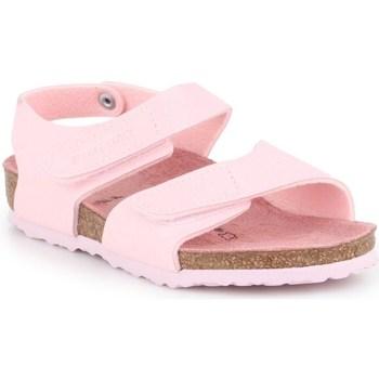 Zapatos Niños Derbie & Richelieu Birkenstock Palu Kids Logo Rosa