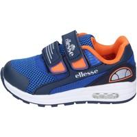Zapatos Niño Zapatillas bajas Ellesse BN666 azul
