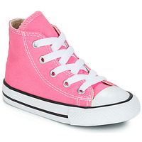 Zapatos Niña Zapatillas altas Converse CHUCK TAYLOR ALL STAR CORE HI Rosa