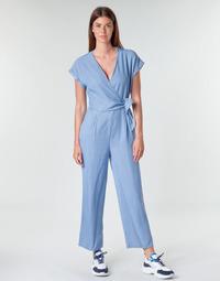 textil Mujer Monos / Petos Vero Moda VMLAURA Azul / Claro