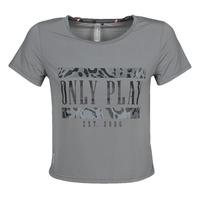 textil Mujer Camisetas manga corta Only Play  Gris
