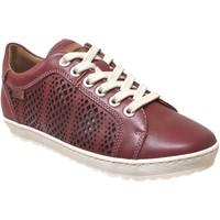Zapatos Mujer Derbie Pikolinos 901-6875 lagos Cuero rojo