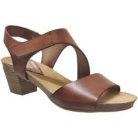 Zapatos Mujer Sandalias Xapatan 1088 Cuero marrón medio
