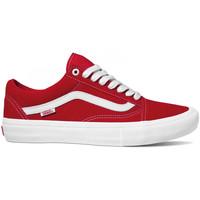 Zapatos Hombre Zapatos de skate Vans Old skool pro Rojo