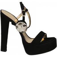 Zapatos Mujer Sandalias Ororo CAMOSCIO+ACCESSORIO nero