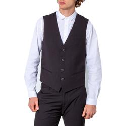 textil Hombre Chaleco de traje Antony Morato MMVE00088-FA600104 Nero