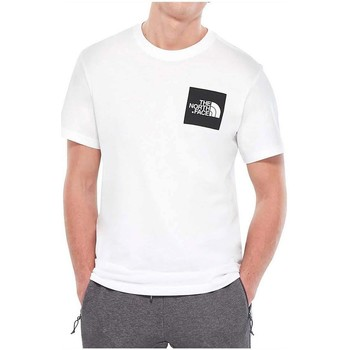 textil Hombre camisetas manga corta The North Face NF00CEQ5LA9 Blanco