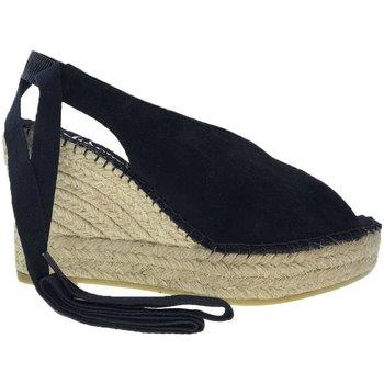 Zapatos Mujer Alpargatas Vidorreta Cuña  24600 Negro Negro