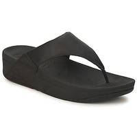 Zapatos Mujer Chanclas FitFlop LULU LEATHER Negro