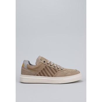 Zapatos Hombre Zapatillas bajas Krack Q00004004-40 Beige